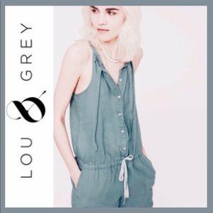 LOU & GREY Linen Romper